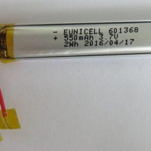601368 550mAh 3.7v batteries